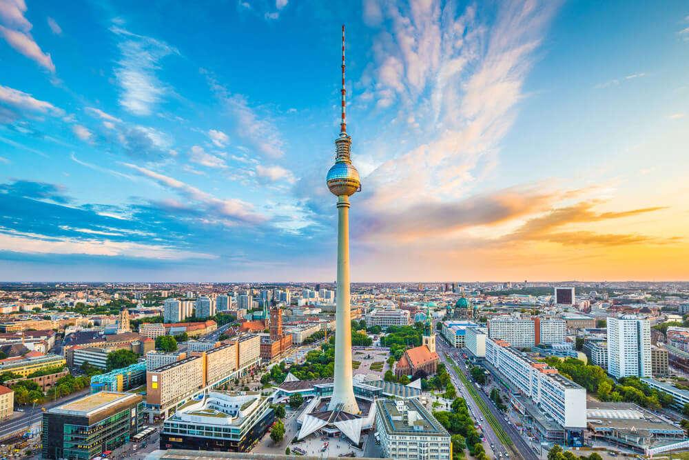 Alexanderplat in Berlin