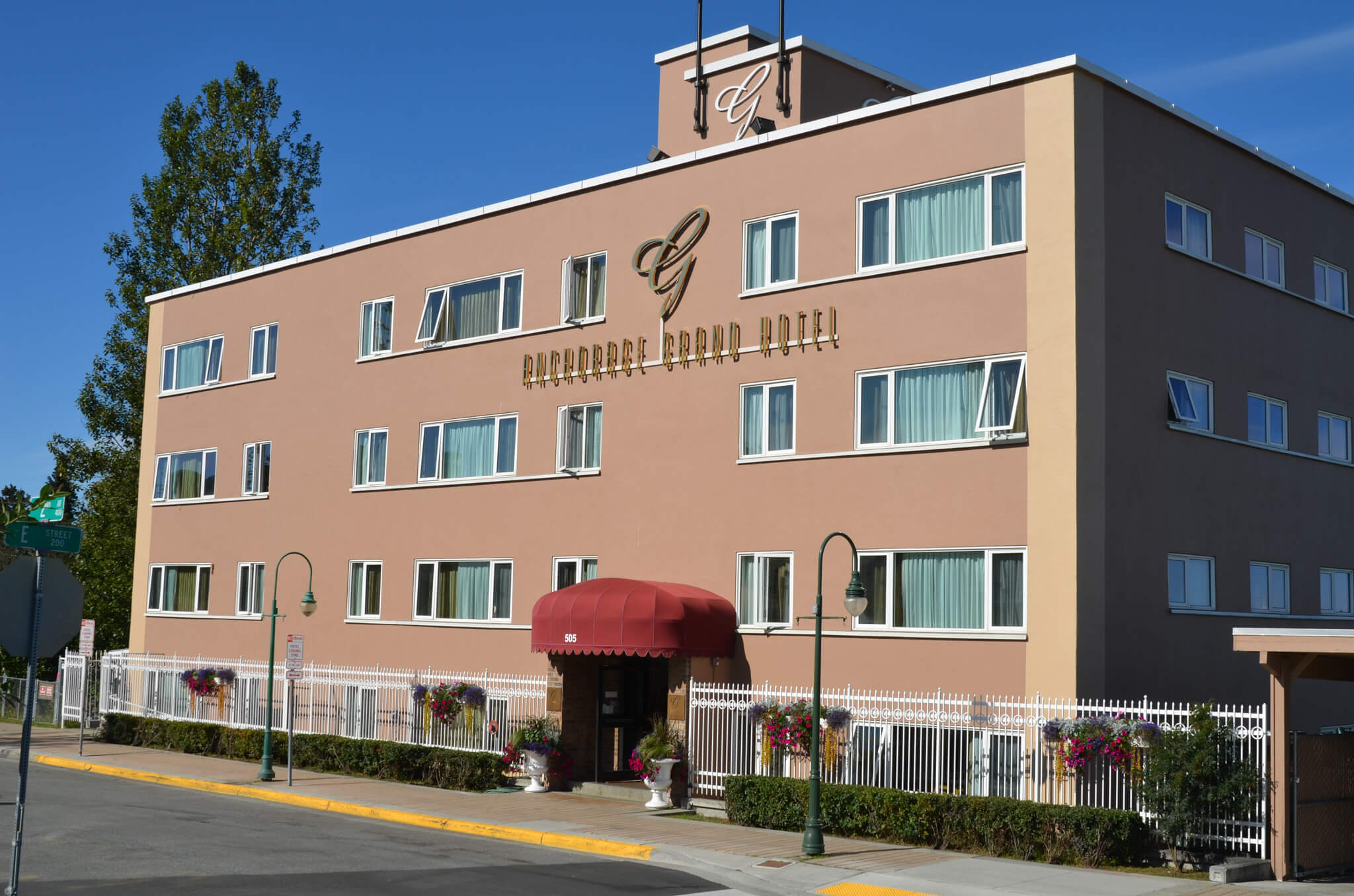 offers an affordable stay in the heart of Anchorage
