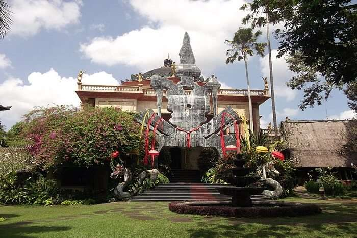 famous museum on bali