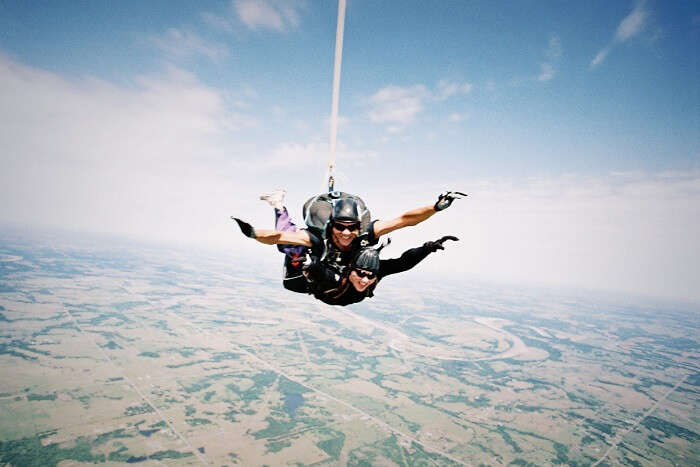 Bungee Jumping and Skydiving