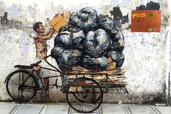 Capture the street art
