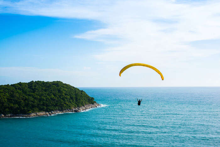 best paragliding sites in Thailand