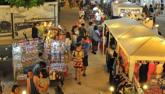 Get a glimpse of Thailand's artistic side at Cicada Market