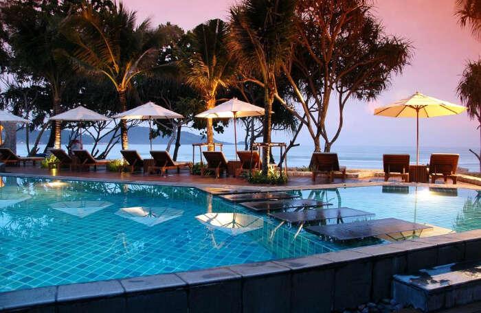 luxury beachside retreat