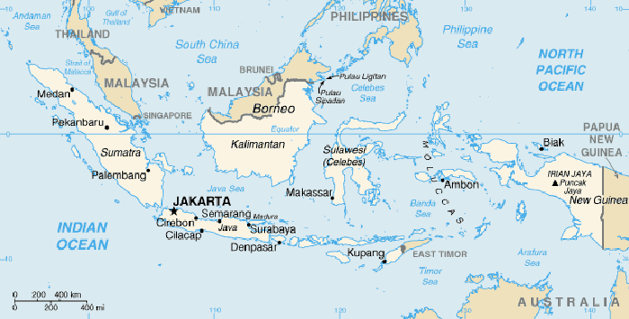 world map sumatra