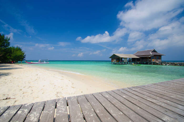 Karimunjawa Island in Java Island of Indonesia