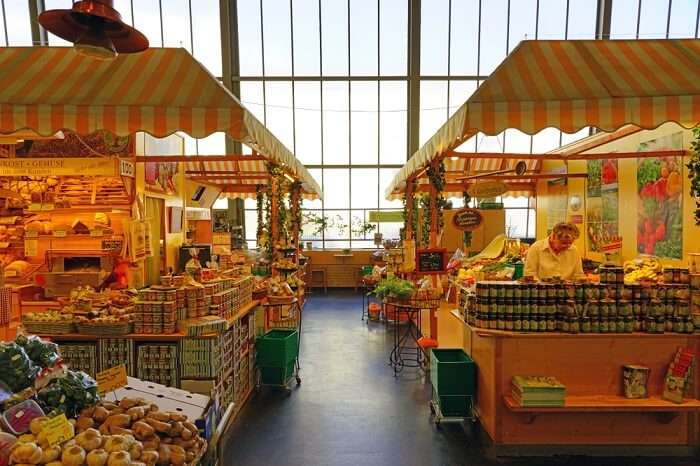 grocery shopping in Germany