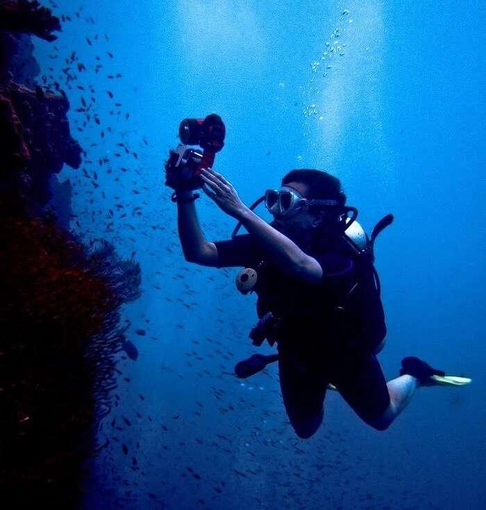 Scuba Diving In Koh Khrok Bangkok