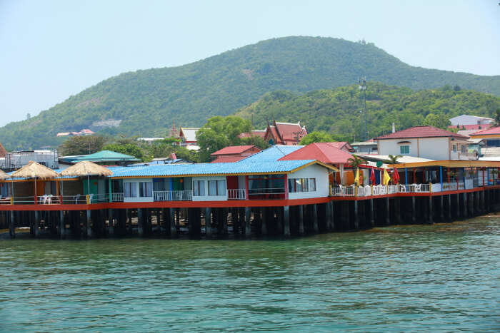 Homestay houses in Koh Larn Thailand