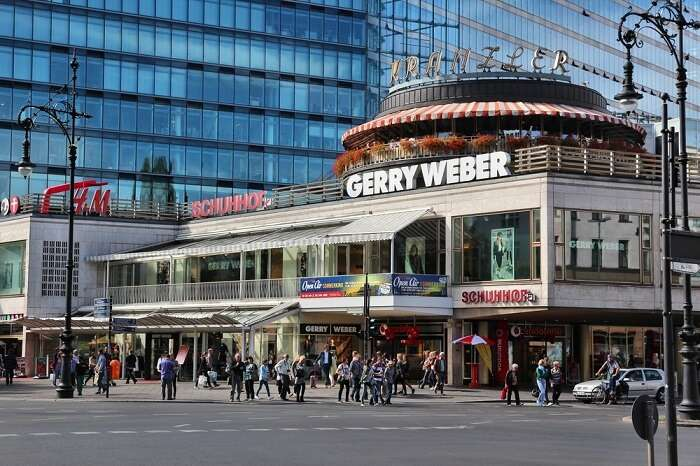 Berlin's most popular shopping street