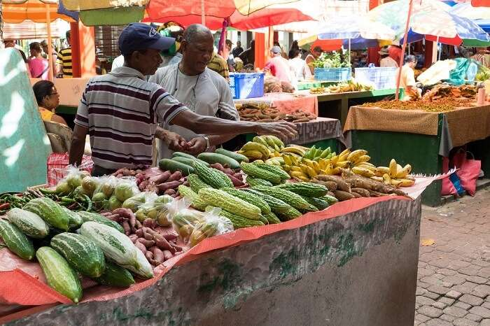 Local food Seychelles