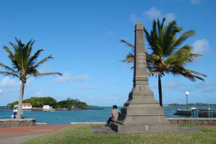 Mahebourg in Mauritius