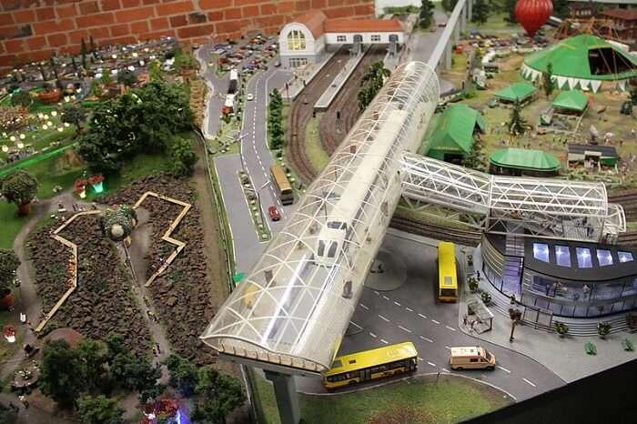 most fascinating model railway