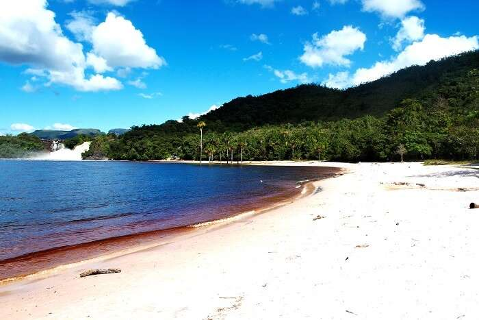 Relax at the Canaima Lagoon