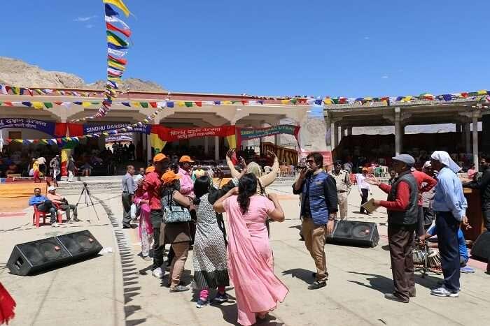 Sindhu Darshan Festival jammu and kashmir