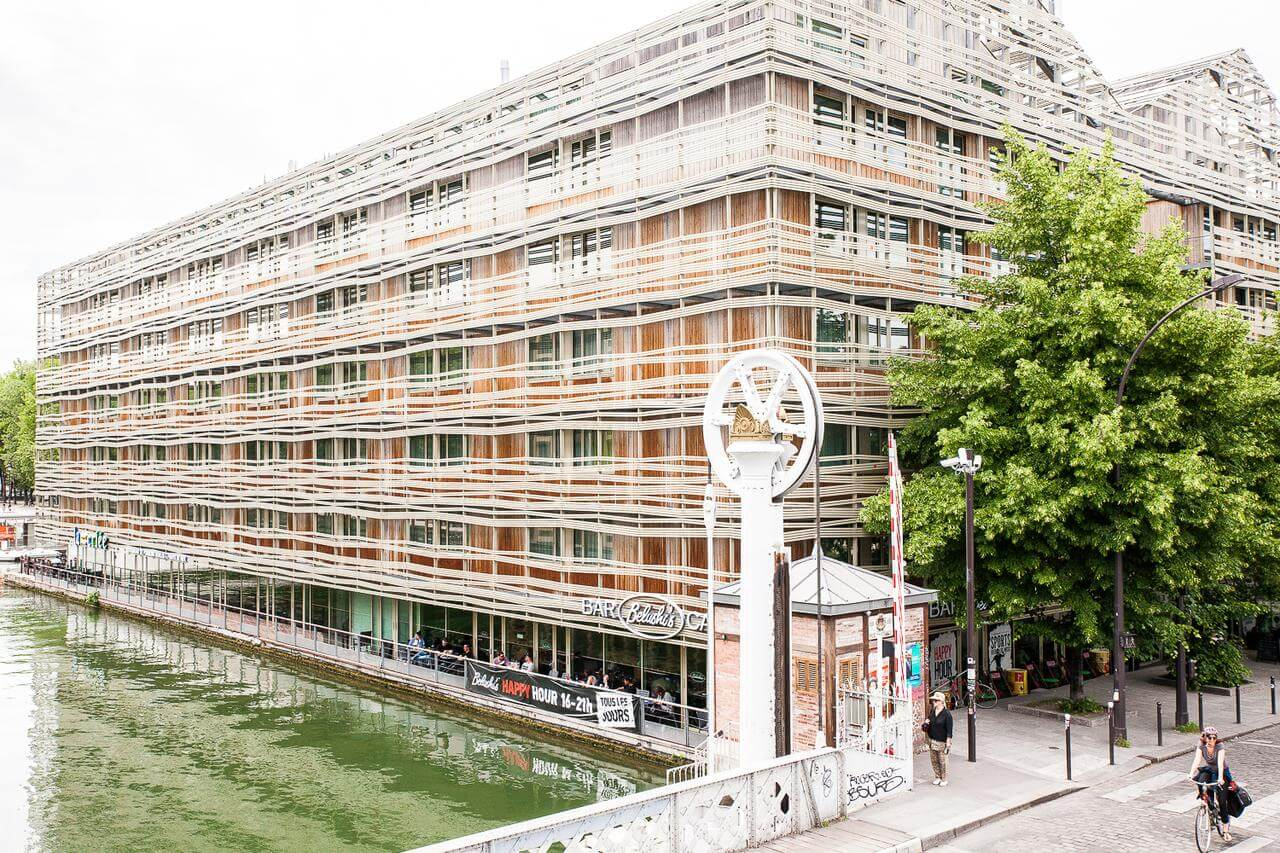the most renowned youth hostel in Paris