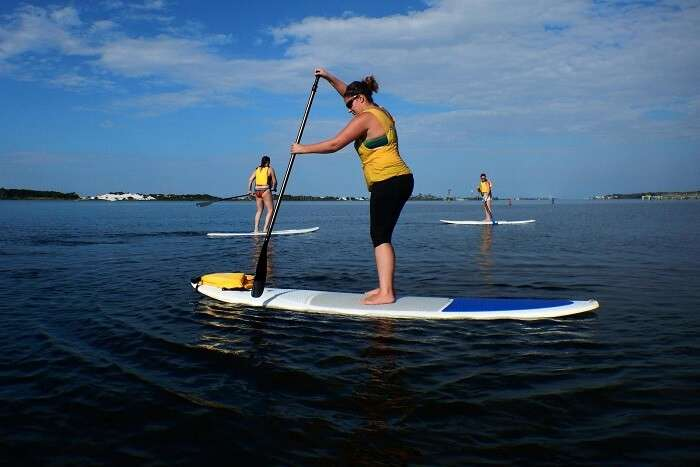 Stand-up Paddleboarding singapore