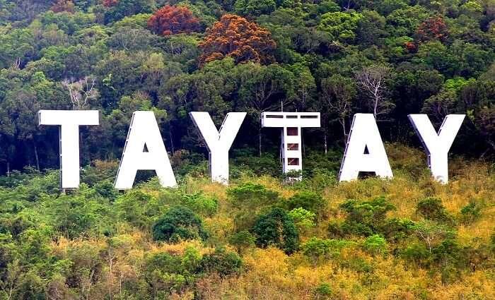 Taytay island