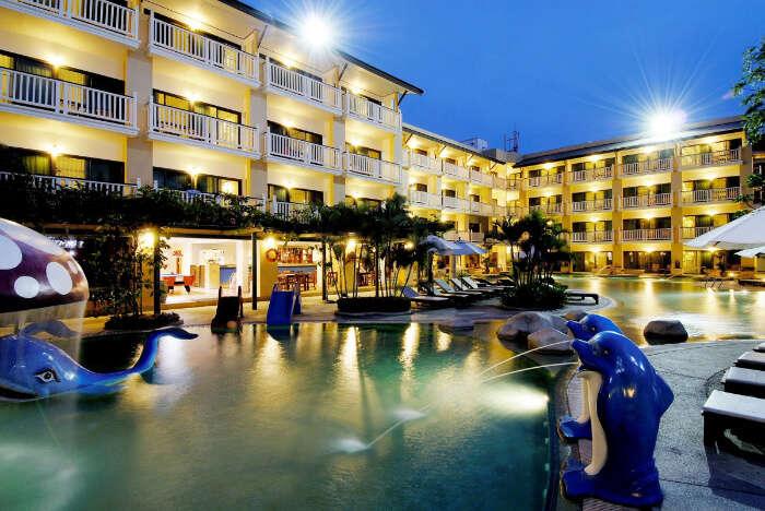 stupendous resort