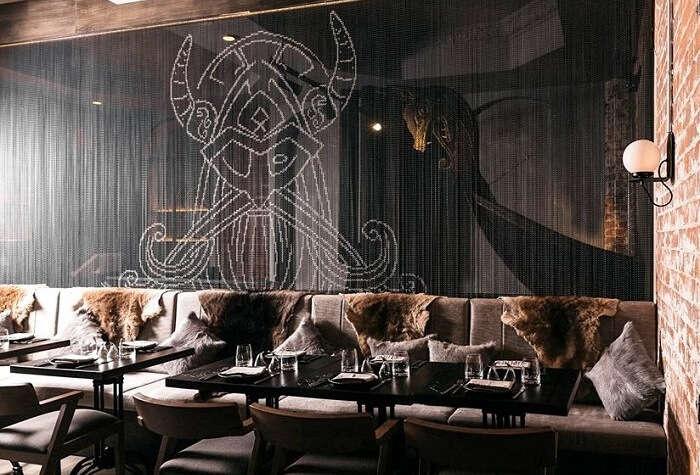 Mjolner Restaurant interior