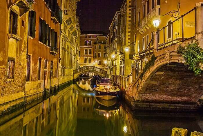 canal cruise in Venice
