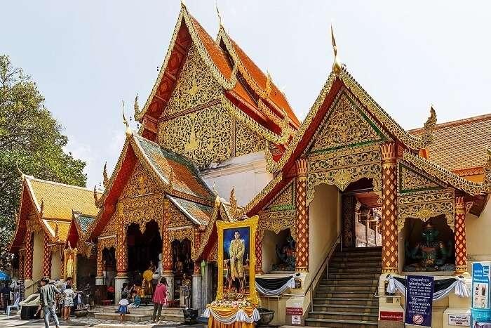 Wat Phra That Doi Suthep Location