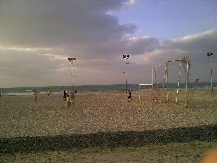 activities at ajman beach