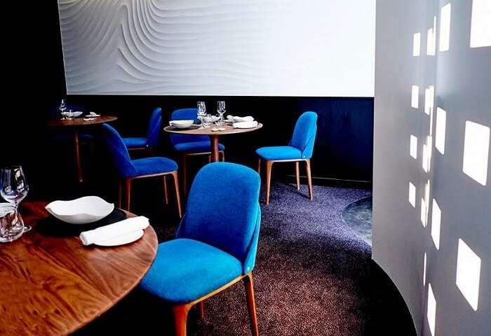 modern restaurant serves incredible dishes