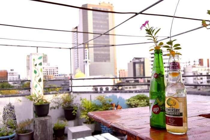 colombo city hostel rooftop