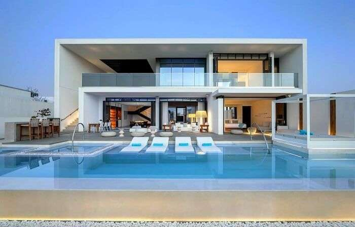 luxury villas are perfect for a relaxed time