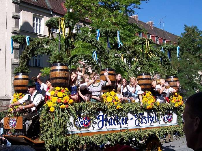 parade oktoberfes