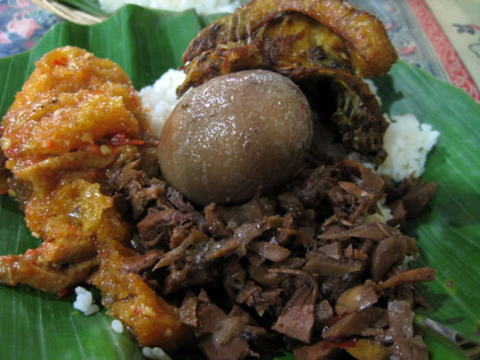 traditional Indonesian delicacy