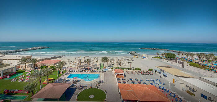 explore the Ajman beaches