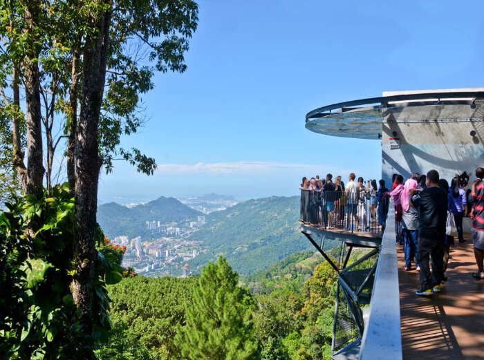 one of the famous hill stations in Malaysia