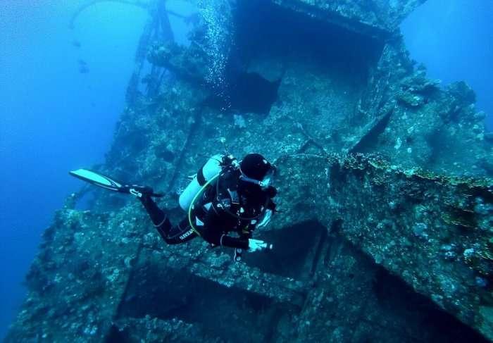 scuba diving in Phuket