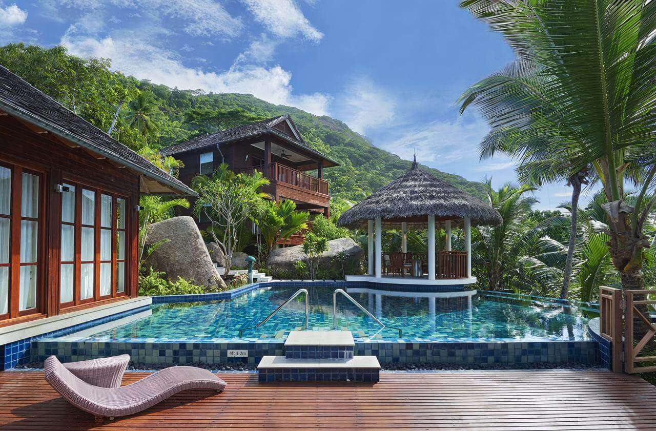 a hotel in Seychelles