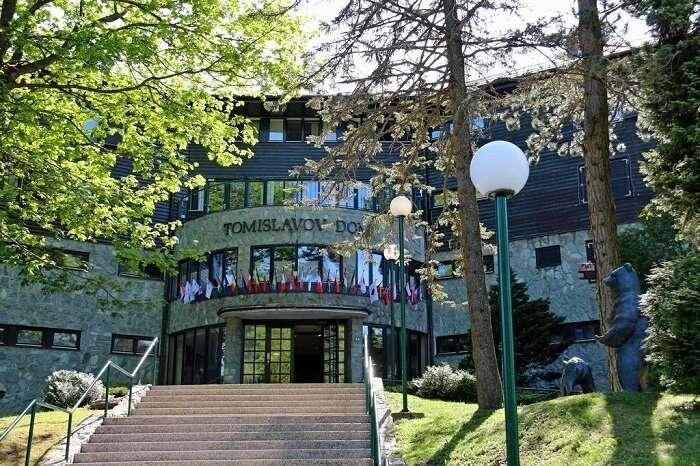 exterior of resort tomislav