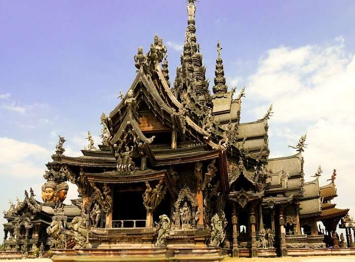Sanctuary of truth temple