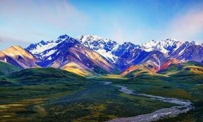 Denali Park in Alaska