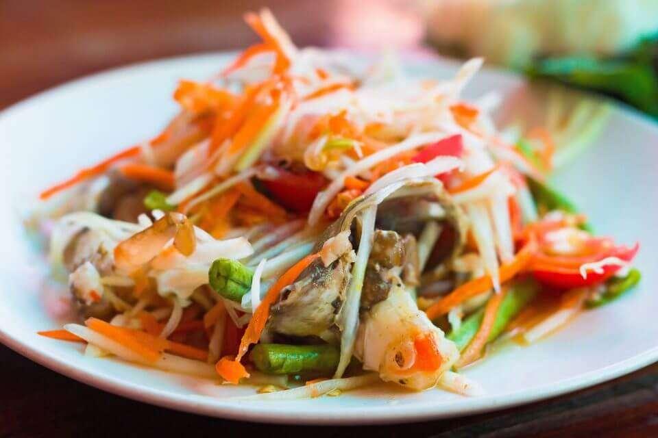 tom maak, laos food, laos delicacies