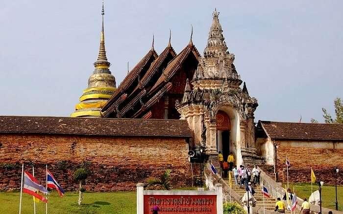 Wat Phra That lampang Luang.