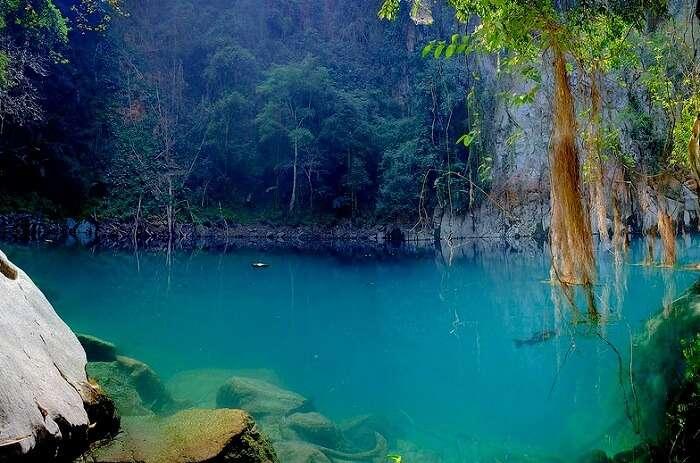 Lom Poo Keaw Lagoon