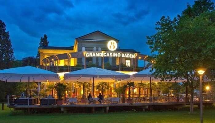 Grand Casino Baden Switzerland