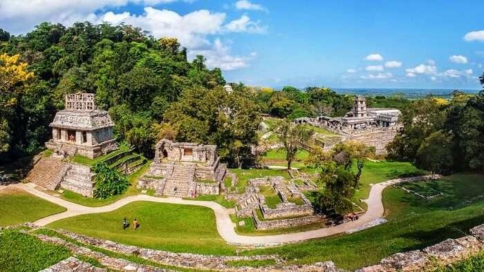 Yucatan peninsula ruins of Mayan