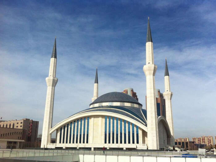 beautiful Mosque in Turkey