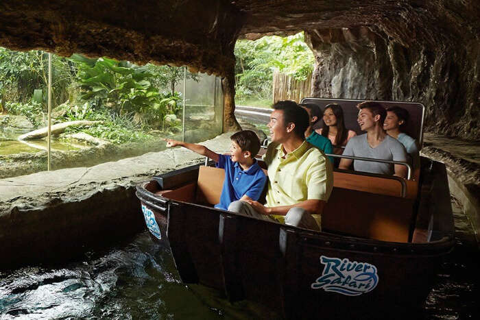 Amazon River Quest, River Safari Singapore