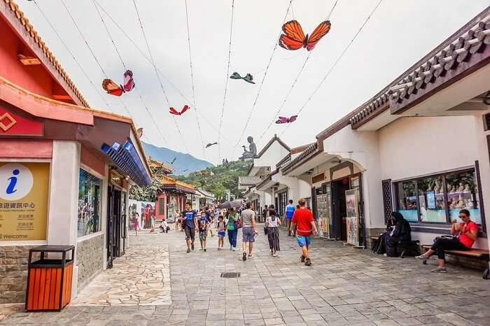 Amazing Ngong Ping Village