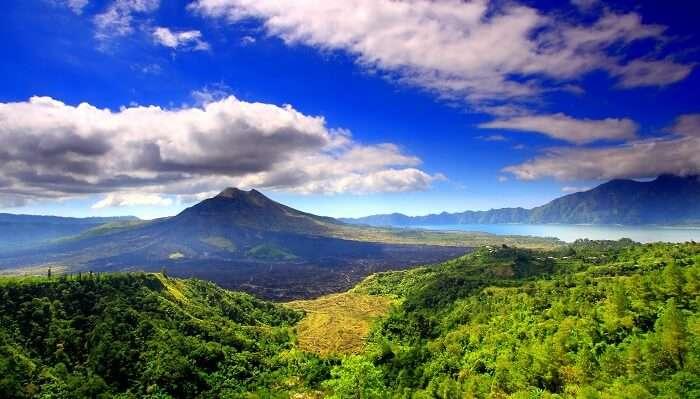 famous mountain in bali