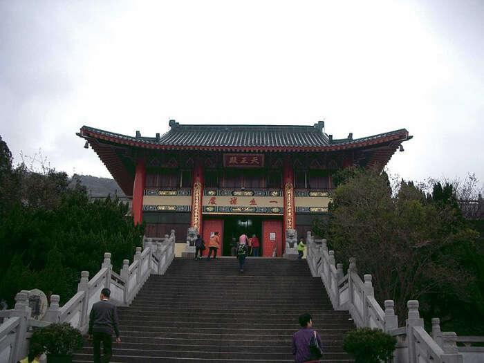 Monastery in tsuen wan
