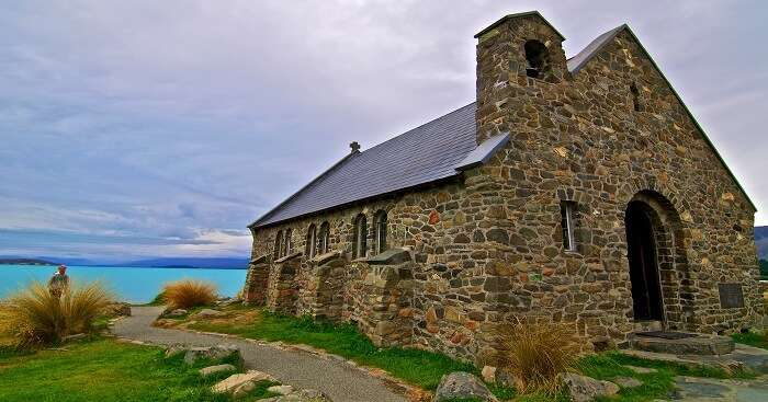 scenic beauty church in new zealand